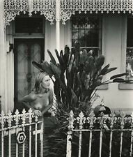 Nude In Front of Cottage by David Powell 2000, Signed 9x12 Photograph