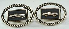 VINTAGE 1960'S CUFFLINKS OF A 1940'S OR 1950'S CAR