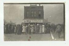 Tingley IOWA RP c1910 SALE DAY at GENERAL STORE nr Osceola Creston Mt. Ayr