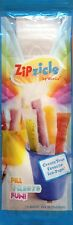 New Zipzicle Icy Pole Maker Pops Popsicle Mould Ice Poles 12 Pack BPA Free Kids