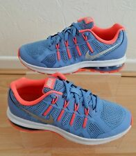 719fe9e99c12 NIKE AIR MAX DYNASTY TRAINERS SIZE 4 LADIES OLDER GIRLS CORNFLOWER BLUE LAVA  GLO
