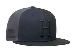 Huf worldwide Skateboard cap hat NEW ERA 7 3/8 Multi Classic H black