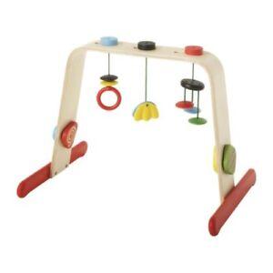 Ikea EBaby gym LEKA Birch/multicolour