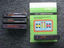Munch Man TI Invaders Blacvkjack Car Wars Cartridges for Texas Instruments 99/4A