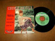 CECILE DEVILE - EP FRENCH FESTIVAL 1250  / LISTEN - FRENCH JAZZ  POPCORN