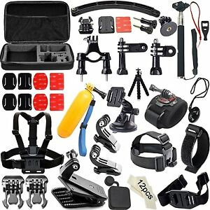 50-In1 Outdoor Sports Action Camera Accessories Kit for GoPro