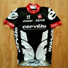 Cervélo Test Team Short Sleeve Cycling Jersey 2009 Castelli Size: M NEW !