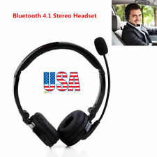 Trucker Wireless Bluetooth Headset with Mic Over the Head Earphone for PS3 Skype
