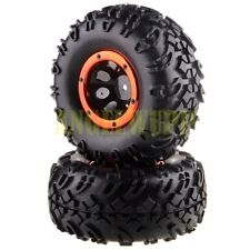 Rims/Secure Ring &Tires 2P 18072 For HSP 94180 1/10 4WD Rock Crawler Pangolin RC