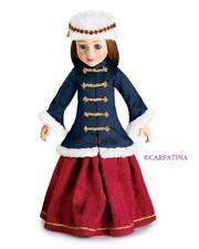 "Doll Clothes SLIM 18"" Skirt Red Grand Duchess Coat Royal  Hat Carpatina® Dolls"