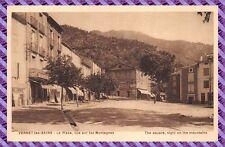 VERNET - Les-. BAINS Postal- La Plaza Vista sur los Montañas