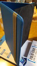 """Custodia a Libro  Universale per Tablet da 10.1"""" Cover azzurro"""