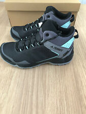 Womens Adidas Terrex Eastrail Mid GTX W Grey Four/Core Black/Clear Mint - UK 4