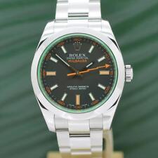 Rolex Milgauss Stahl Automatik Ref: 116400GV - mit Rolex Box von 2008 - 2009