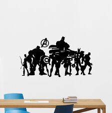 Avengers Superheroes Wall Decal Super Hero Vinyl Sticker Poster Art Decor 237zzz
