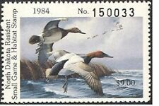 ND3   1984   North Dakota    State Duck Stamp       DSS