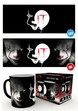 IT Pennywise Heat Changing Mug Horror Movie Breakfast Coffee Tea Cup
