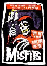 Misfits Psycho Crimson Ghost T Shirt New Large Charcoal Black Danzig Samhain