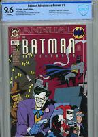 Batman Adventures Annual #1 CBCS 9.6 1st Roxy Rocket w/ Harley Quinn & Scarecrow