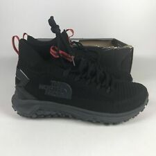 The North Face Truxel Mid Hiking Shoes TNF Men's Size 8 Black NFOA3WZBCAO-130