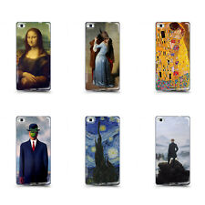 Custodia Cover Anukku Trasparente Personalizzata Design Quadri Famosi Per Huawei