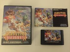 Sega Mega Drive Spiel Gunstar Heroes CIB / OVP Sammlungsauflösung