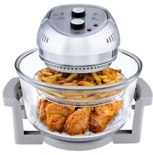 BIG BOSS 16 Qt. Countertop Oil-less Fryer Oven/Rotisserie and Convection, Silver