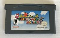 Super Mario Advance (Nintendo Game Boy Advance, 2001)  Untested