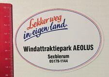 Aufkleber/Sticker: Lekkerweg In Eigen Land - Windattraktiepark AEOLUS (04061673)