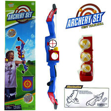 Kids Archery Target Outdoor Playset & Shoot Kit Sport Game Ball Bow & Arrow Toy