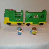 Fisher Price 2016 Little People Green Friendly Passengers Train lights & sounds