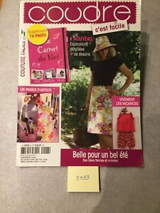 """LIVRE COUTURE  NEUF """" COUTURE FACILE """" (5053)"""
