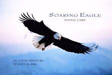 Signed USPS 1st Day Ceremony Program UX219A Eagle Air Postal Card FDOI 1995