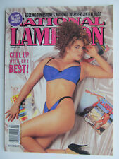 National Lampoon Feb 1992 Best of Parodies issue v. 2 #133 humor comics funny