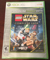 NEW & SEALED * XBOX 360 LEGO STAR WARS THE COMPLETE SAGA PLATINUM FAMILY HITS *