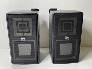 Vintage Sony APM Speakers with Wall Mount Brackets, 8 Ohm 25W Max, 1 Pair