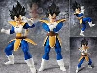 S.H.Figuarts SHF Dragon Ball Z DBZ Vegeta 2.0 Scouter Armor Action Figure NoBox