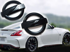Matte Black Z Emblem Fender Badge Car Body Side Skirt Sticker 350Z 370Z Z34