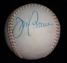 SIGNED BASEBALL JIM BREWER 1965 DODGERS DEC.87 RARE AUTOGRAPH BALL BECKETT BAS