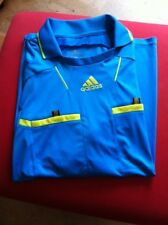 ADIDAS Schiedsrichter Trikot Referee 2010 Jersey Kurzarm blau Gr. XL +++wie NEU!