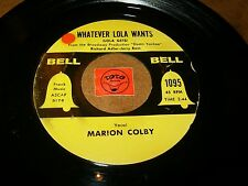 MARION COLBY - WHATEVER LOLA WANTS - HEART   / LISTEN - VOCAL JAZZ POPCORN