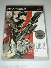 Metal Gear Solid 2 incl. bonus DVD completo con instrucciones PlayStation 2 ps2