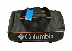 "COLUMBIA Dog Mountain 22""x14""x12"" Duffle Bag Gray w/ Pockets Retail $240"