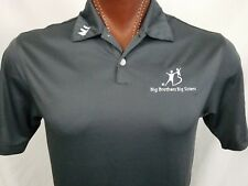 Nike Golf Dri-Fit Big Brothers Big Sisters Gray Polo Shirt S Small