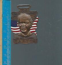 Af-011 - Vintage Jimmy Carter 39th President Bronze Watch Fob Leaders for Change