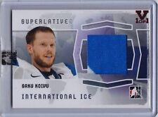 2014-15 ITG Superlative Vault Saku Koivu International Ice Jersey (1/1)