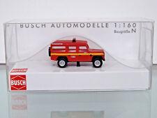 BUSCH 8376 - Spur N 1:160 - Land Rover Feuerwehr - NEU in OVP