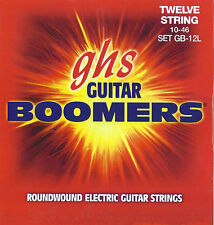 GHS GB-12L Boomers 12-string electric guitar strings, Light .010-.046