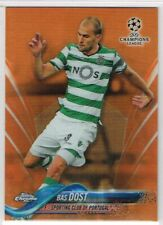CHAMPIONS LEAGUE CHROME 2017-2018 ☆ ORANGE PARALLEL ☆ Bas Dost - Sporting #/25