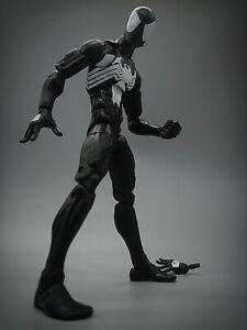 Marvel Legends Black Suit Spiderman  Sandman Wave